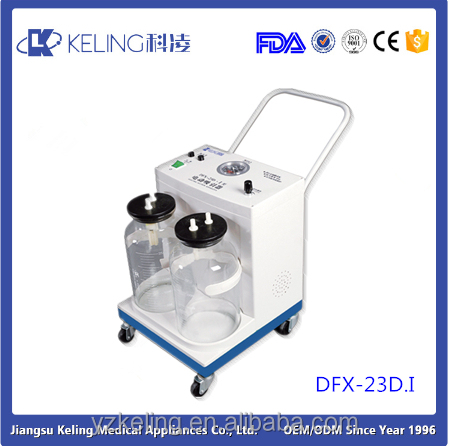 DFX-23D.I Portable electrical suction units suctioning for sputum and other thick secretions