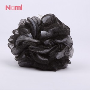 Fast Delivery Mens Massage Black Charcoal Bamboo Bath Sponge Soft Loofah Gourd Baby Bath Foam Insert