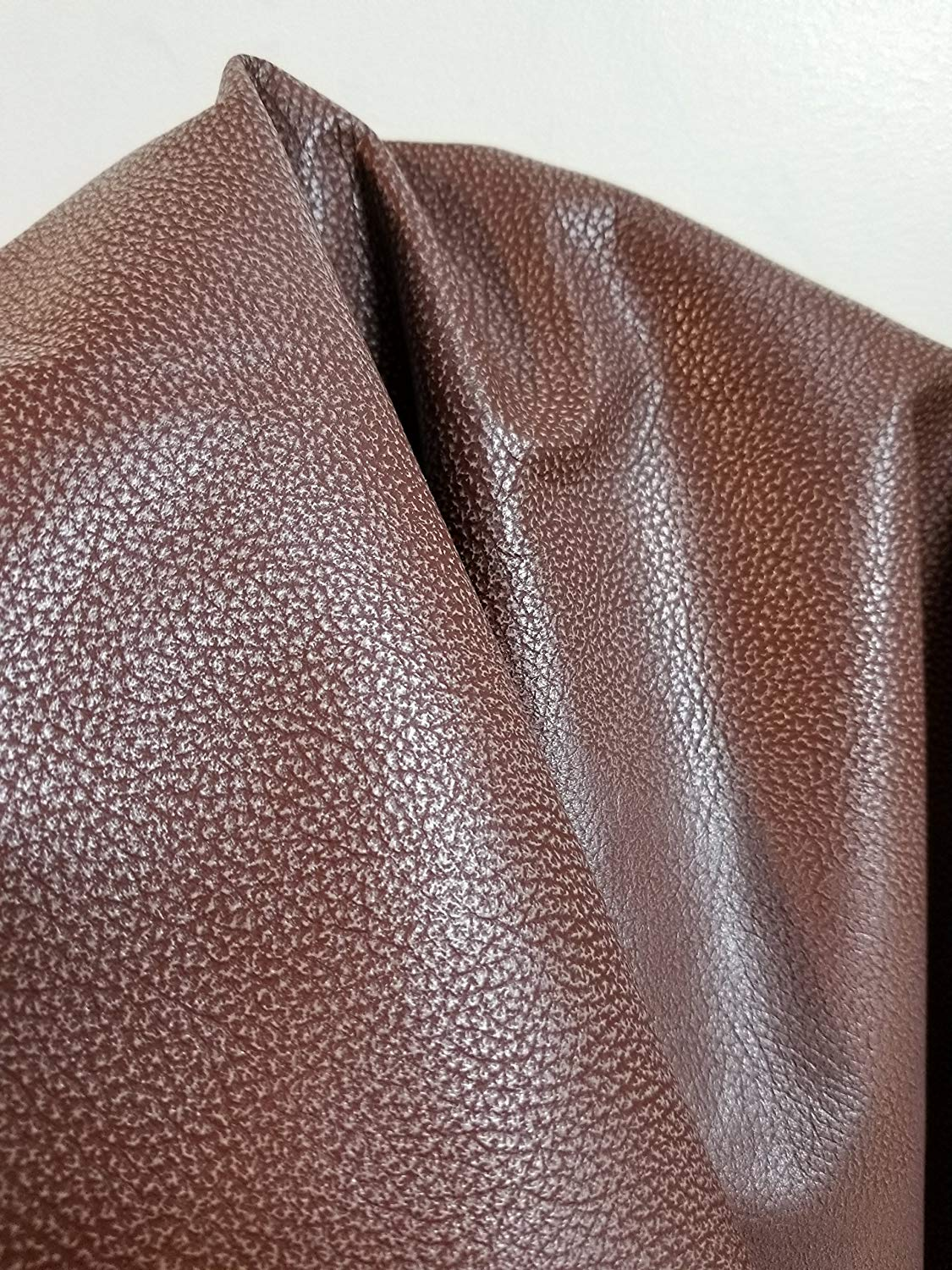 """20"""" x 28"""" cut piece sq.ft. Brown Weekender Tracker 2.5 -3.0 oz Two Tone Soft Upholstery Chap Cowhide Genuine Leather Hide Skin (20 inch x 28 inch cut)"""