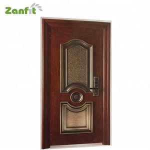 Turkish style cast aluminium exterior door styles