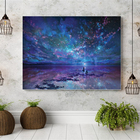 Abstract sky wall art canvas painting diamond painting diy diamond painting 3d for home decoration.