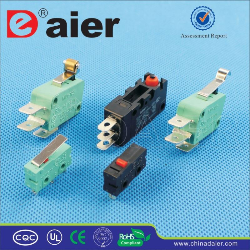 Daier kw3 oz 16A 125VAC MSW micro switch
