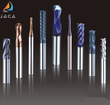 China factory supplier wholesale customized solid carbide end mill cutters