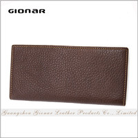 Wholesale Alibaba China Famous Brand Slim Vintage Leather Wallet