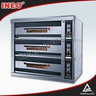 3 Deck 9 Trays Gas Freestanding Oven/Electric Oven With Hot Plate/Hamburger Oven