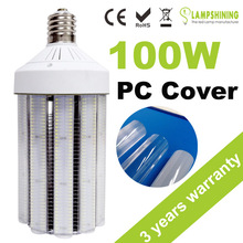 ETL Approved led replacement e40 led corn lamp bulbs 100W bugs protection with Milky cover
