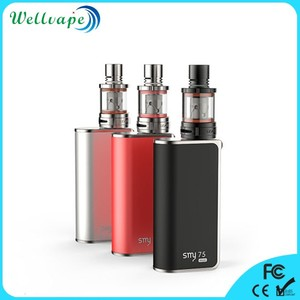 Factory price subohm mod smy 75 mini temperature control fazed box mod
