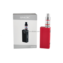 In Stock !!! 2016 New Products SMOK Nano One Kit 80W TC R-Steam Mod with 2.0ml Nano TFV4 Tank pocket size huge vapor