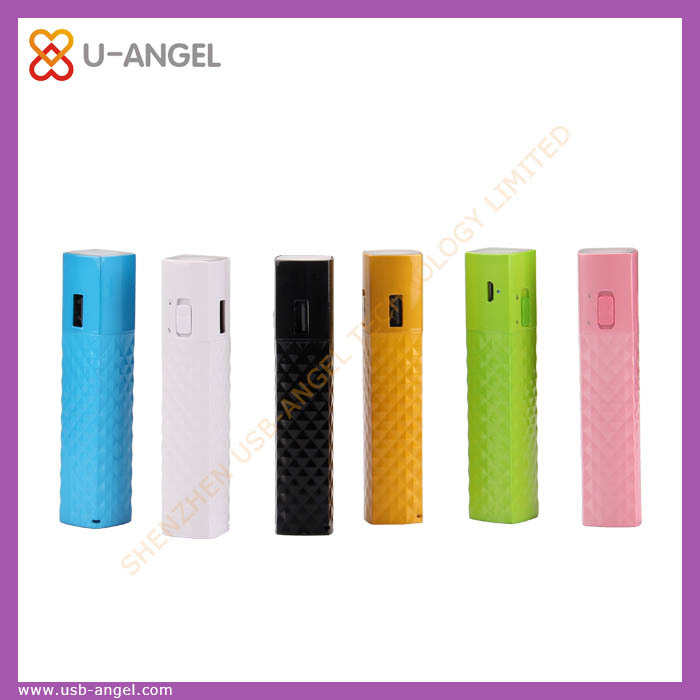 Promotional high quality power bank metal shell portable charger power bank 2600