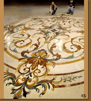 <Direct Factory> RECTANGLE NATURAL MARBLE INLAY PATTERN/ QUARTZ/ ARTIFICIAL MARBLE WATER JET/OBLONG SHAPE MEDALLION FLOORING