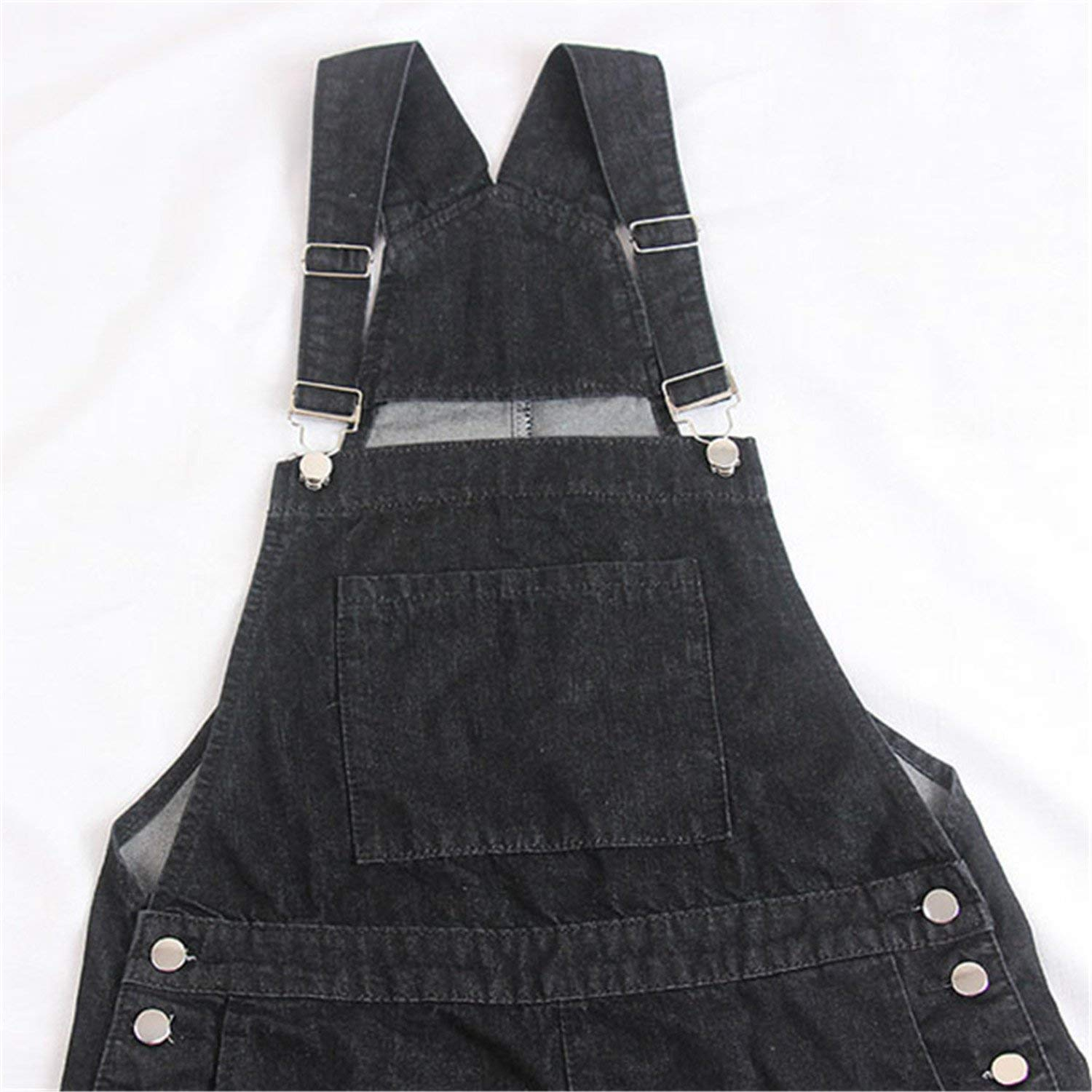 4568c30111b Get Quotations · New Summer Loose Harness Shorts Jeans Women Plus Size Denim  Shorts Female High Waist Sequined Strap