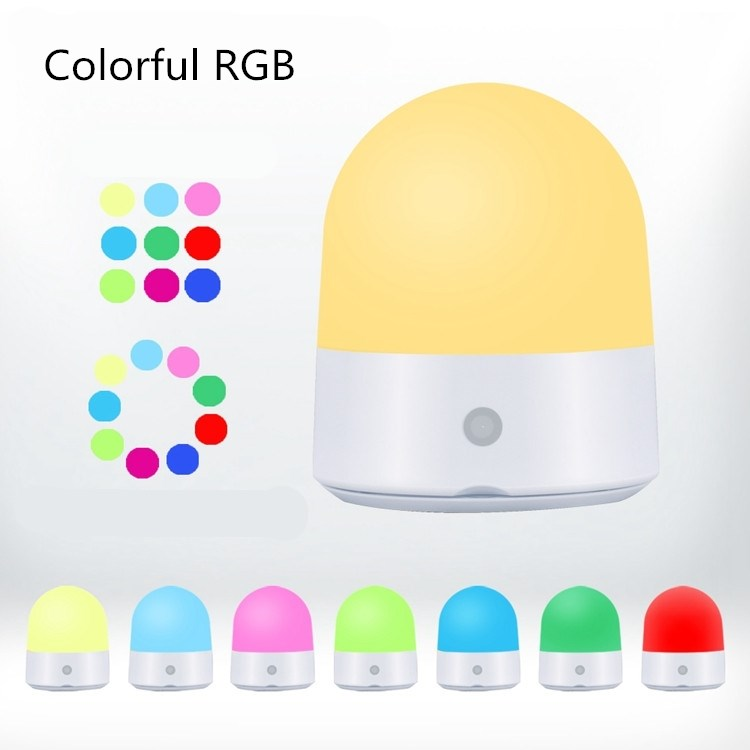 USB charging small kids led night lamp lights color changing night light