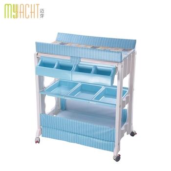 Portable Baby Change Table And Bath Kids Folding Bathtub