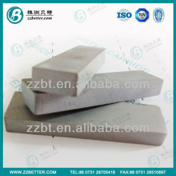 Cemented carbide T10 mining strips