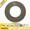 Asbestons free glass fiber clutch facing for cars 254*155*3.6mm