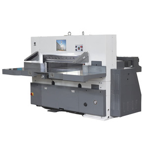 QZK 920 1300 1370 heavy duty honeycomb paperboard guillotine cutter machine