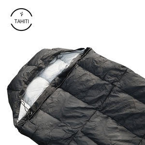 Ripstop Polyester Sheepskin Sleeping Bag