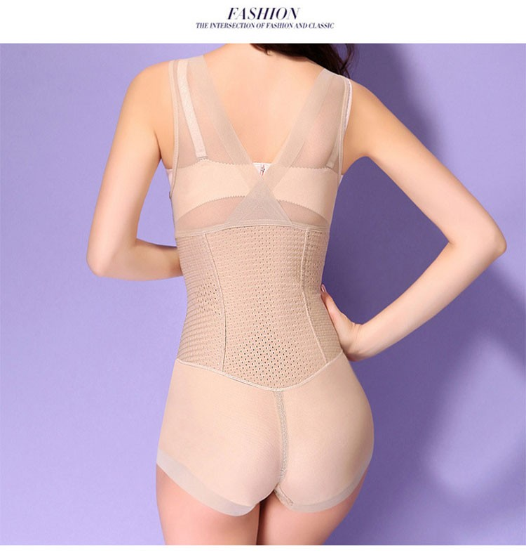 High Quality Autumn Milk Protein Women Bodysuit Postpartum Body Shaper Seamless Corset