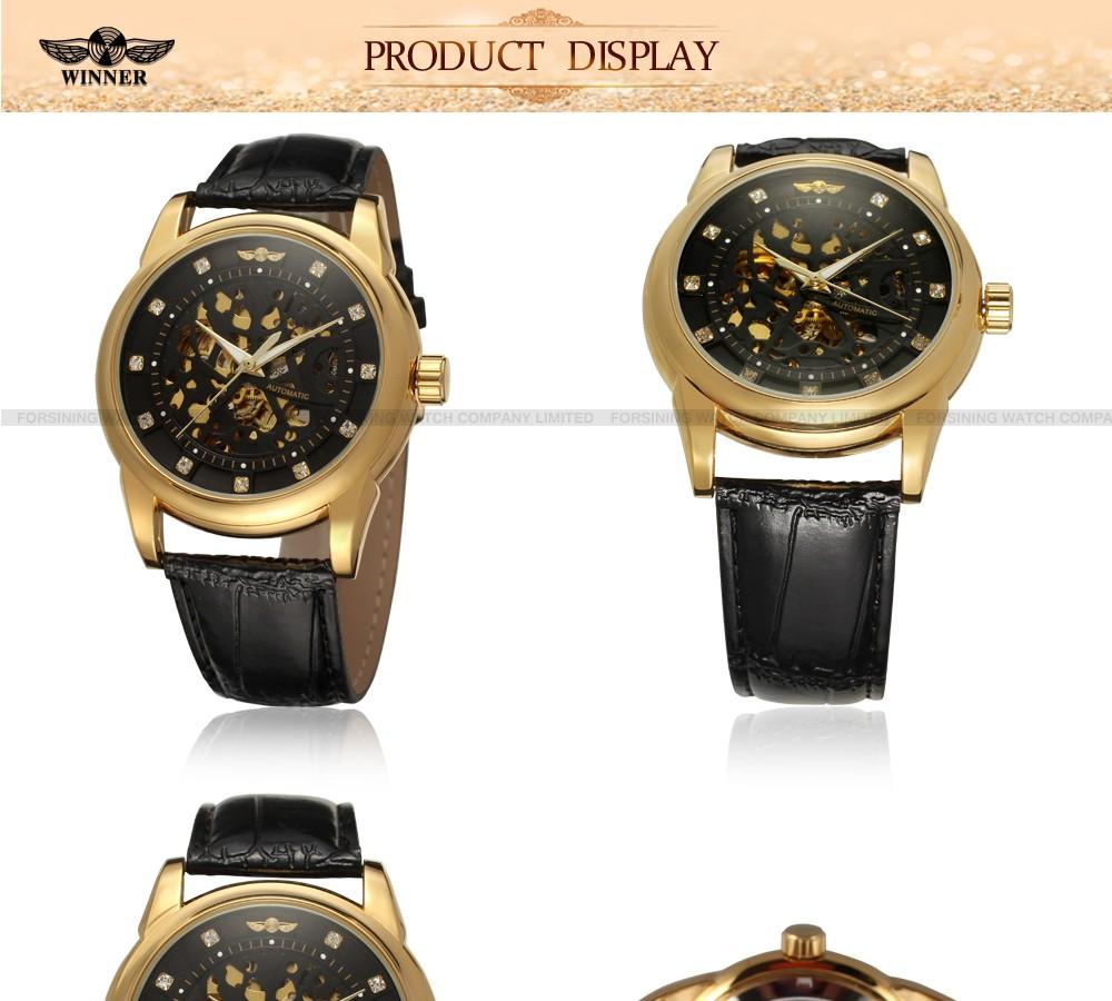 bf1559e94 2019 relógio de mão para homem Esqueleto Assista, marcas de luxo Melhor  Automatic Auto Winding