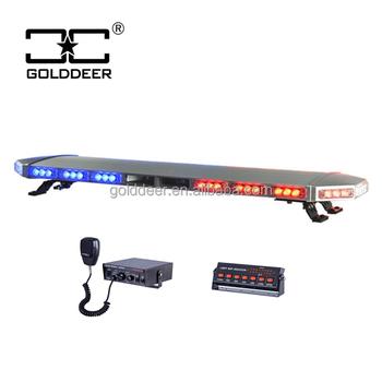 Police Led Lights >> Aluminum Cover Police Led Light Bar With Siren And Speaker Tbd08926 20 3t S Buy Led Light Bar Police Lightbar Led Warning Lights Product On