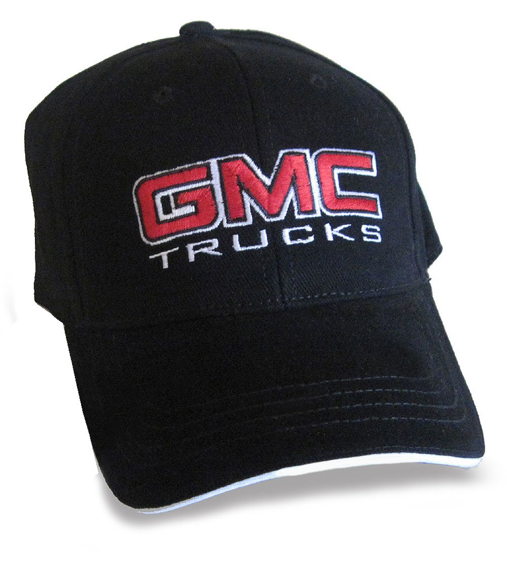 GMC Trucks Hat Cap Black Includes Racing Decal