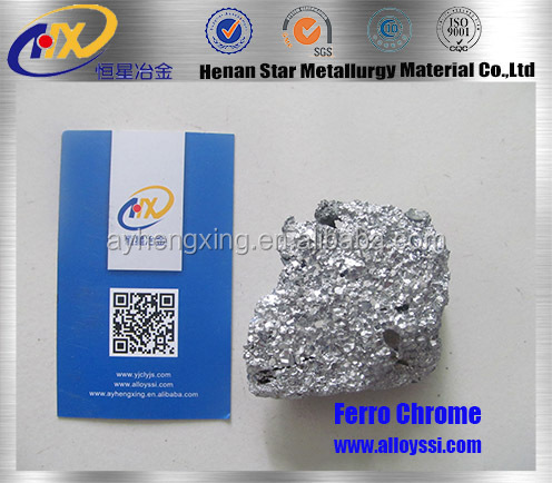 manufacturer supply high pure low carbon nitrided ferro chrome 65/60