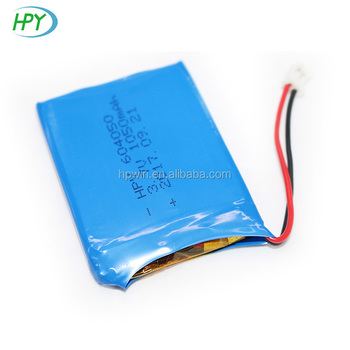 604050 lithium polymer battery 3.7v 1050mAh li-polymer battery for digital devices