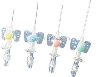 Disposable Butterfly Iv Cannula / Mediacal Iv Catheter
