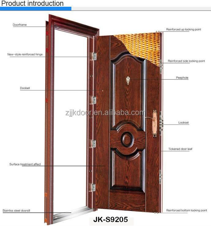 Jk S9003 Steel Double Doors Exterior Best Exterior Doors Prehung Steel Exterior Door Buy