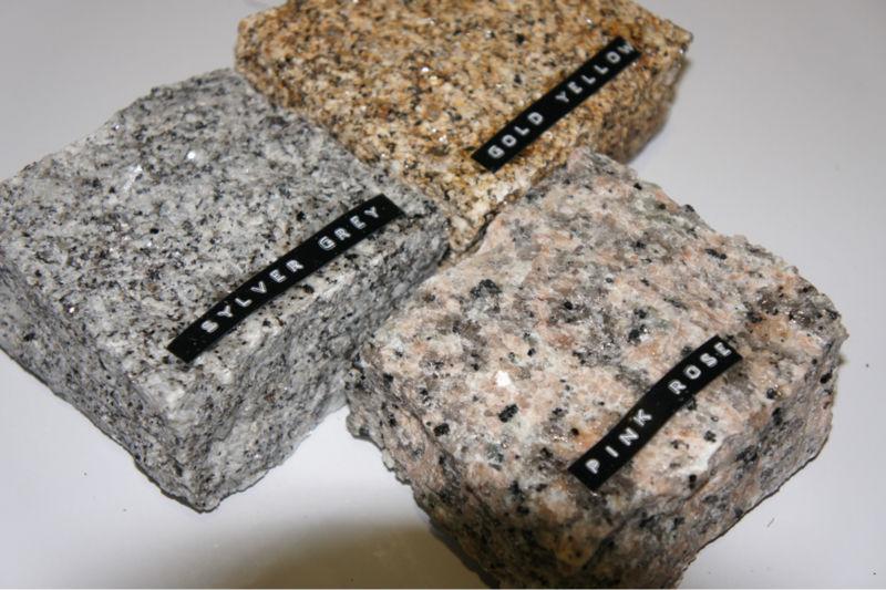 Pavimento rosa porri o granito identificaci n del producto for Granito rosa porrino