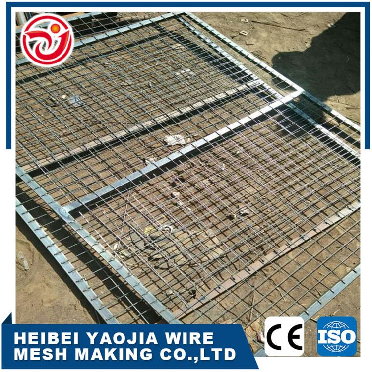 2x2 galvanized decorative welded wire mes panel fence
