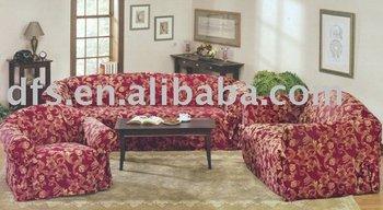 3pcs Jacquard Sofa Cover Set