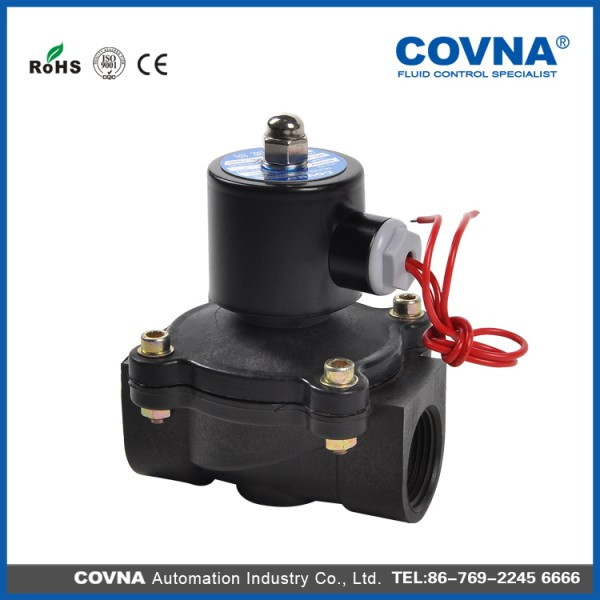 Pvc type 2 inch water solenoid valve for water buy 2 for Plastic water valve types