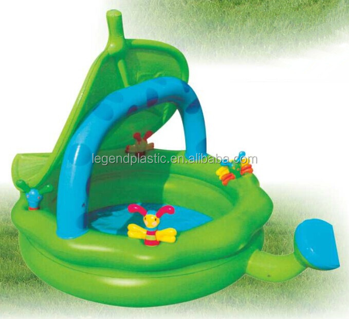 Activity Pool Inflatable Pool,Baby Play Pool With Sunshade