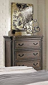 Furniture of America Persephone Transitional Chest, Large, Rustic Natural Tone