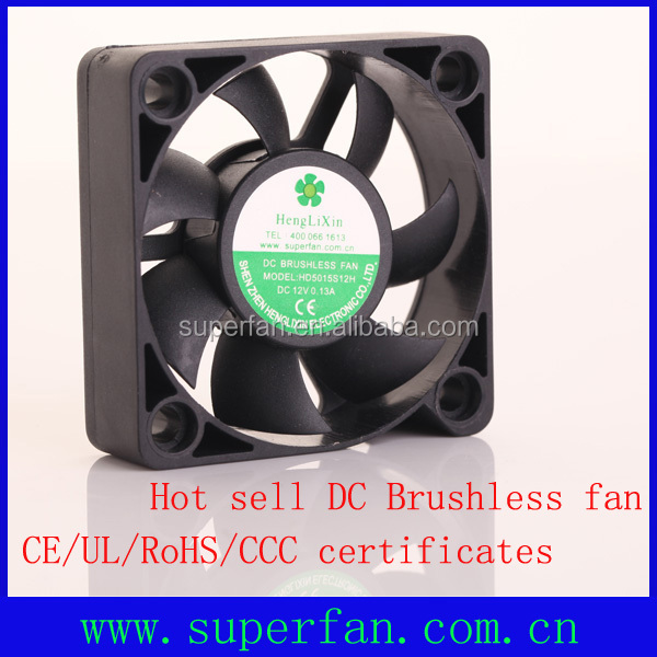 50x50x15mm 12v DC fan 2013-2014 best selling dc brushless cooling fan