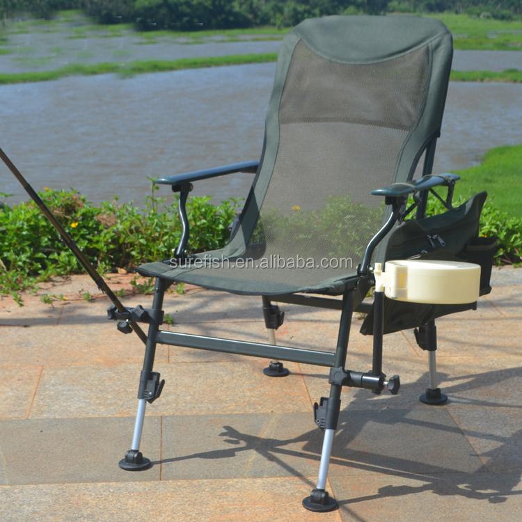 Armest Adjustable Legs Foldable Carp Fishing Chair Buy