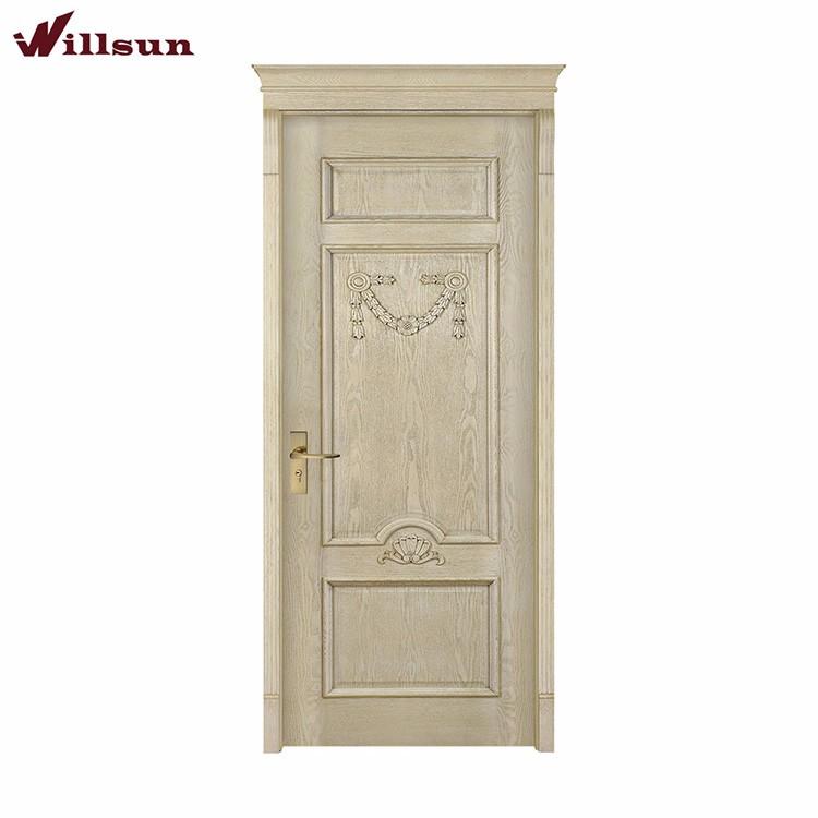 Simple modern room interior door designs fancy oak ash for Used exterior french doors