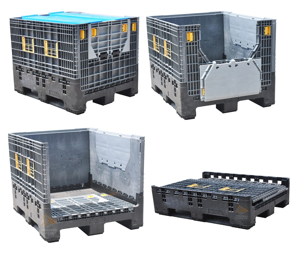 Collapsible Plastic Pallets With Sides Plastic Drum