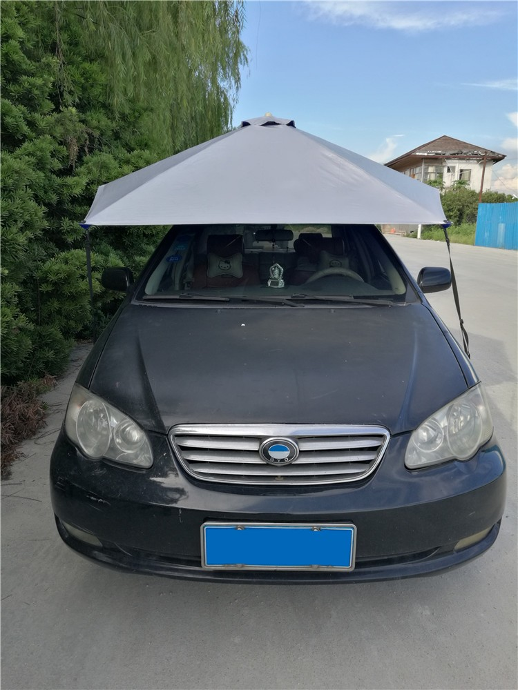 Magnetic Fabric Sun Protection Windshield Covers Dust