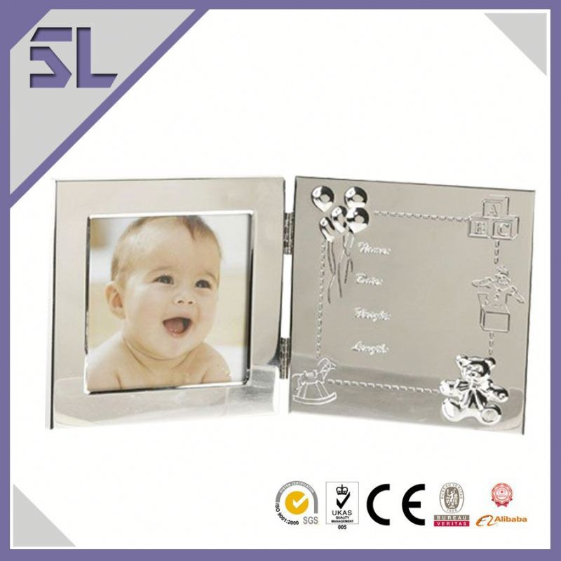 Baby's First Year Photo Frame Best Selling gift Metal Baby Photo Frames Baby Boy Picture Frames