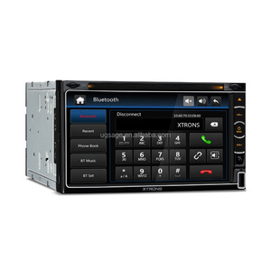 "XTRONS 6.95"" double din car cassette and cd dvd and gps with BT 4.0/FM/AM, car radio cassette player, 2 din car stereo"