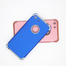 For Apple iPhone 7 Colorful Plastic PC Phone Case,Car Holder Case for iPhone