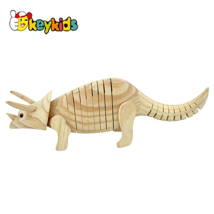 3D DIY Malerei Färbung Dinosaurier Figur Modell Farben Malen Kinder Spielzeug