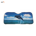 pattern printing car sunshade car window sun visor