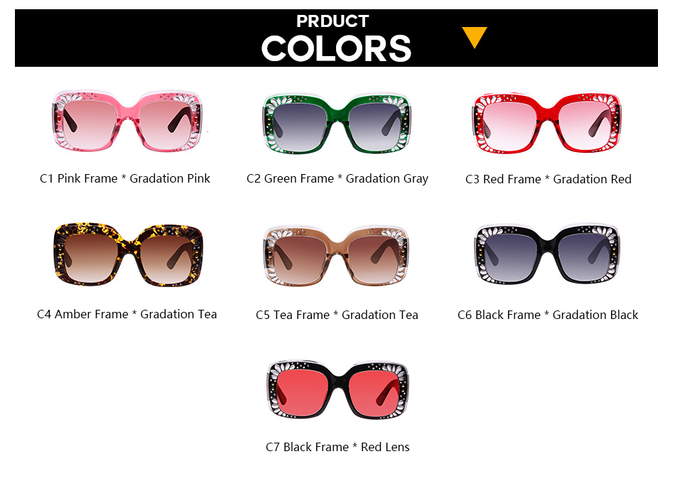 7734a67c05 Boyarn Women Mirror Retro Sun Glasses Mens Shades Crystal Rhinestone Square  Luxury Oversized Sunglasses