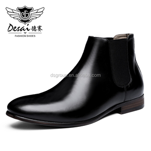 Ingenious Design Men Genuine Leather Pure Shoes with Alibaba export price