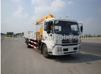 Dongfeng hydraulic truck crane low price