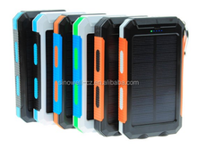 Solar phone charger 10000Mah with Aluminum material