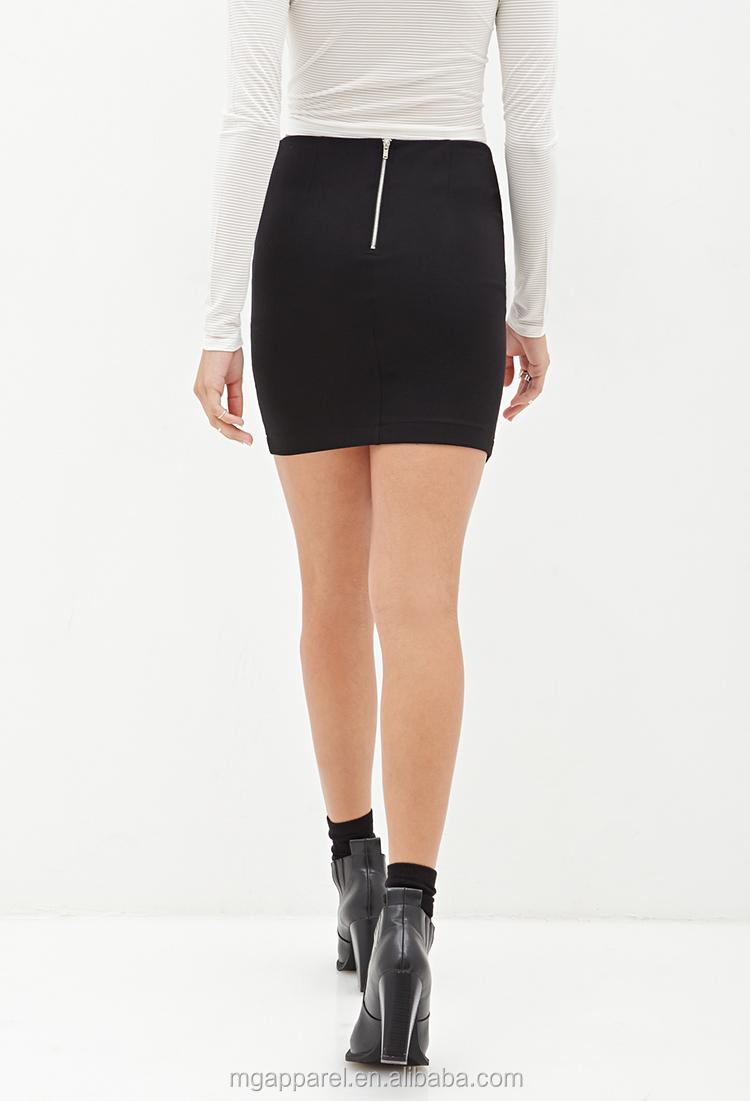 zwarte strakke rok